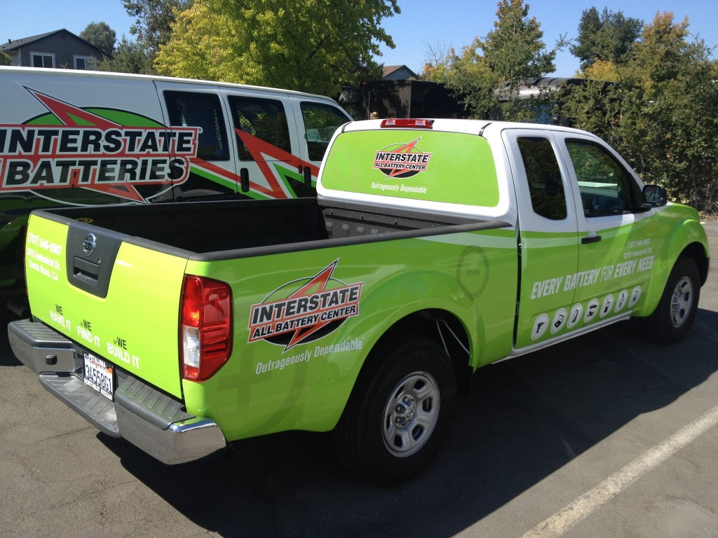 Interstate Batteries Truch Wrap