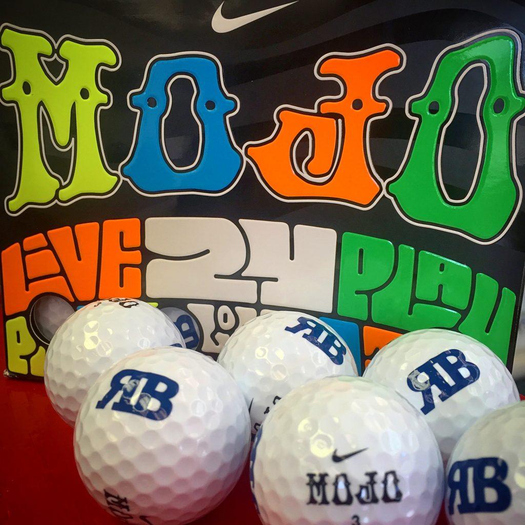 Custom MOJO Golf Balls