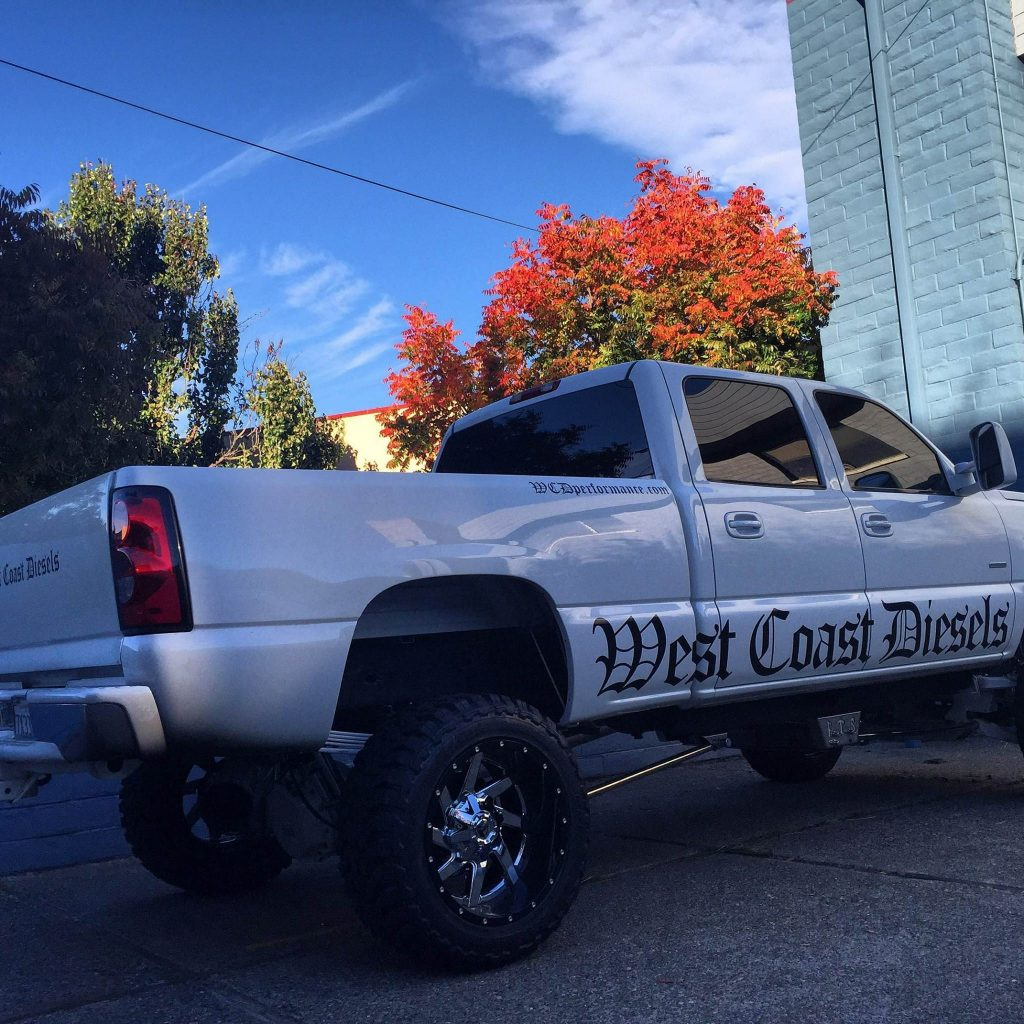 West Coast Diesels Truck Decals