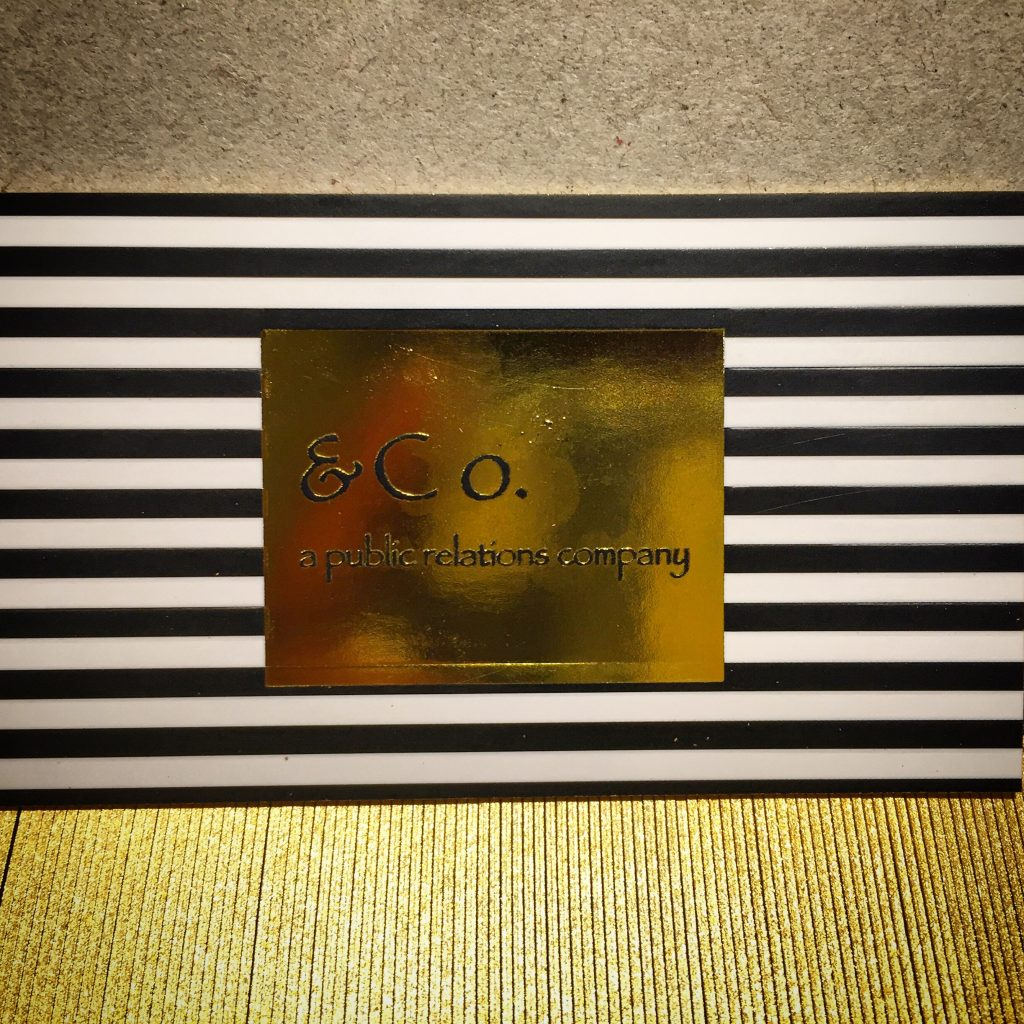 Gold Foil & Embossed Business Cards