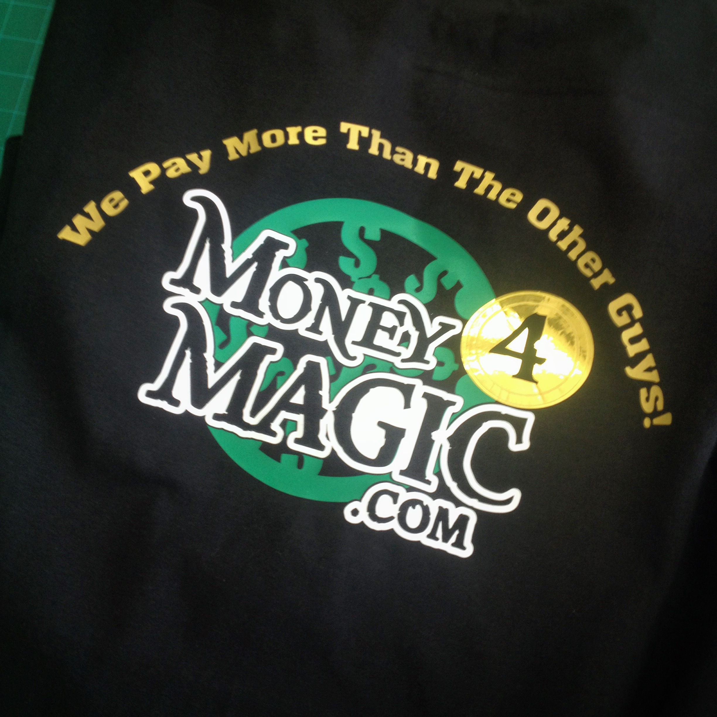 Money 4 Magic Gold Shirts