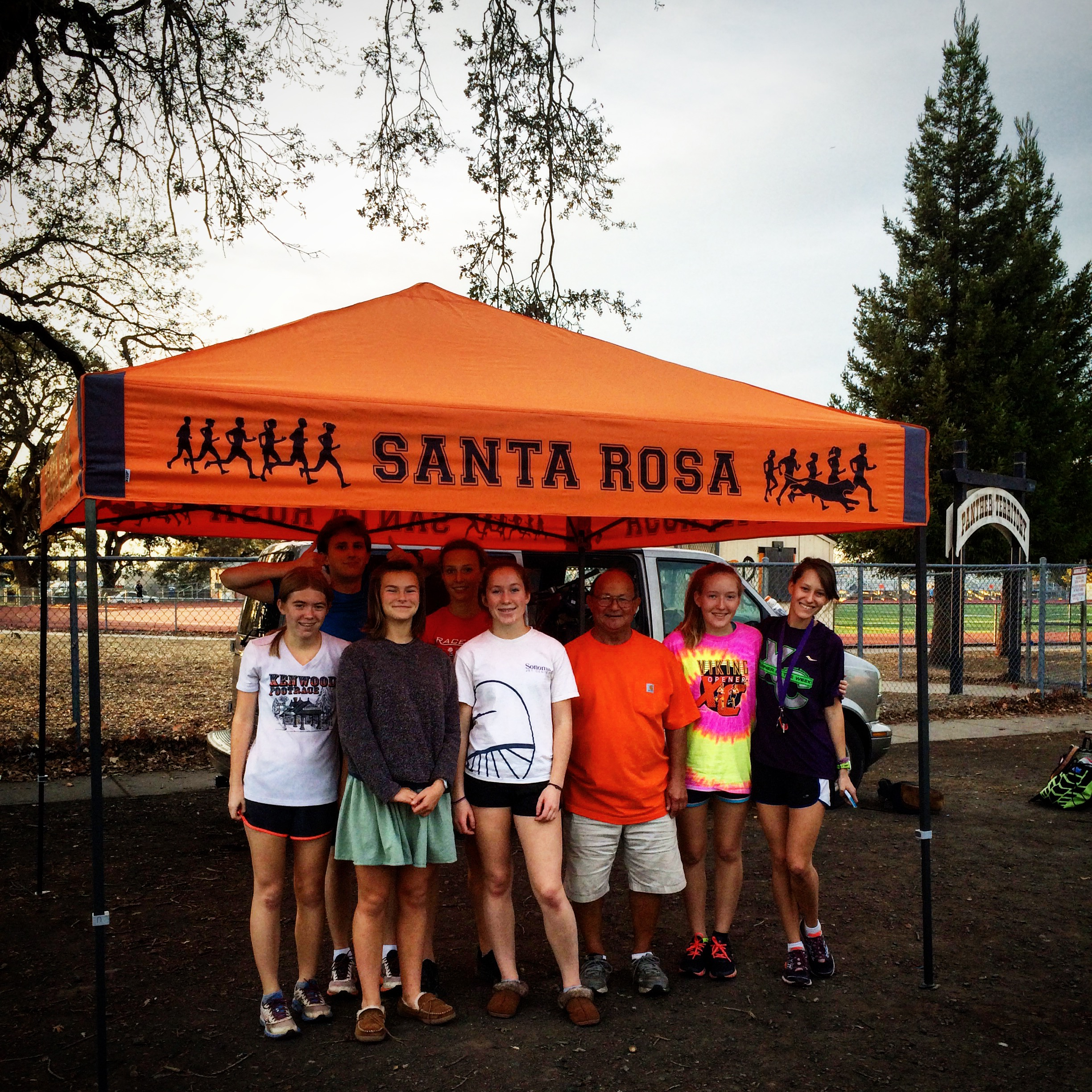 Santa Rosa High School Cross Country Custom Ez-Up
