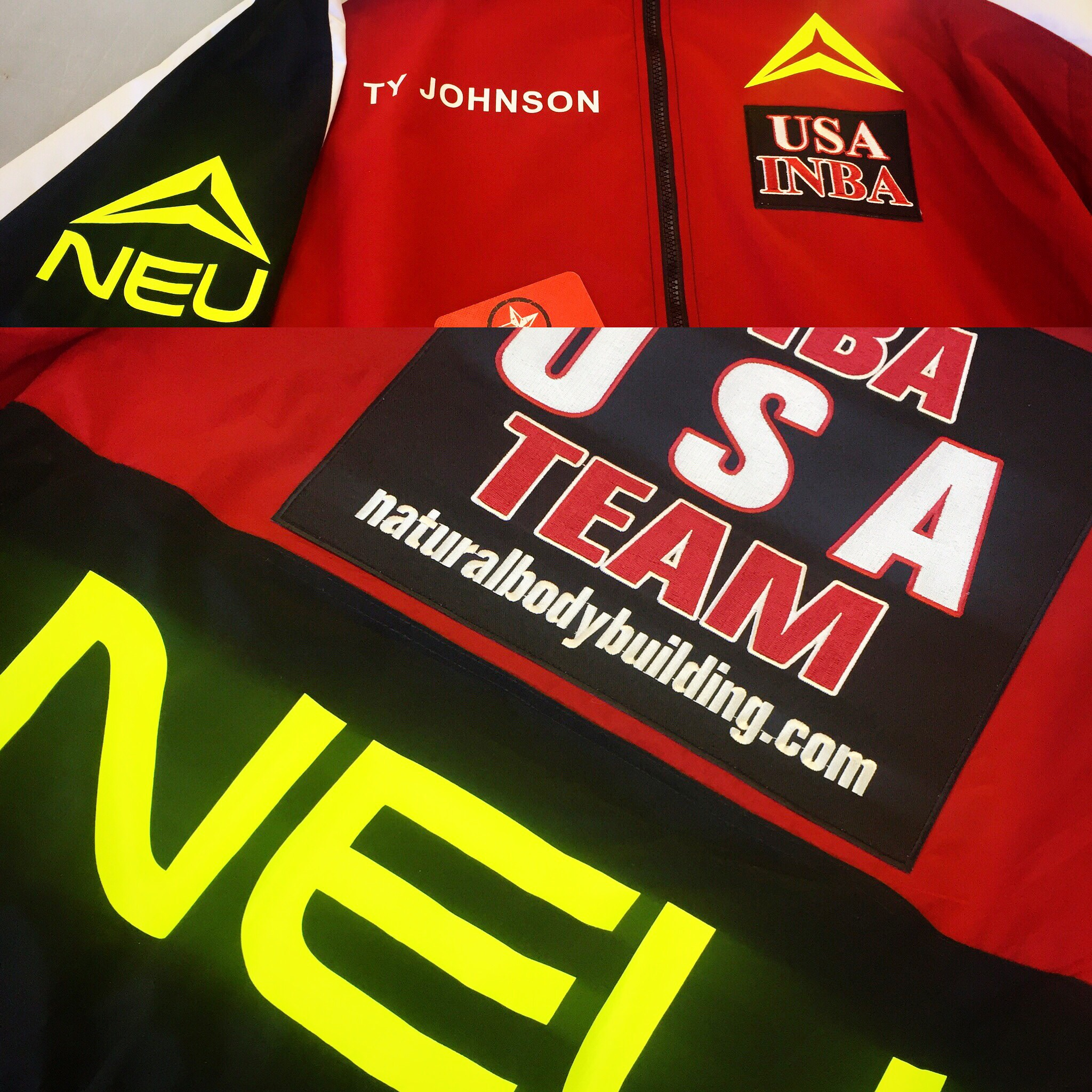 Custom Jacket for Neu Energy Drink