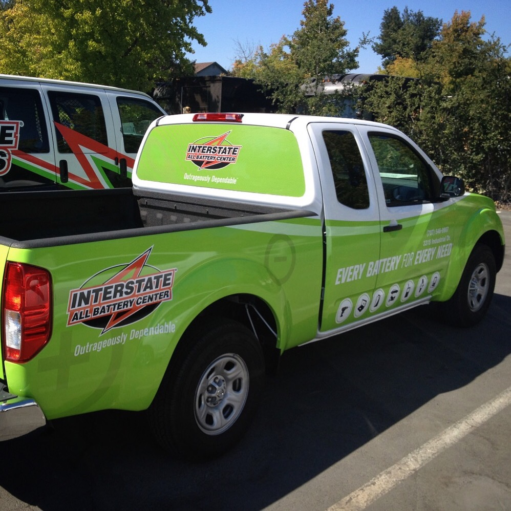 Interstate Batteries Truck Wrap